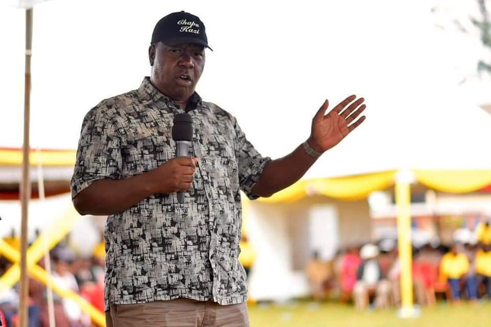 Interior Cabinet Secretary Fred Matiang'I